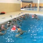 Preparativi di cavi in piscina