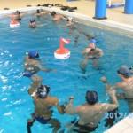 Cavi in piscina