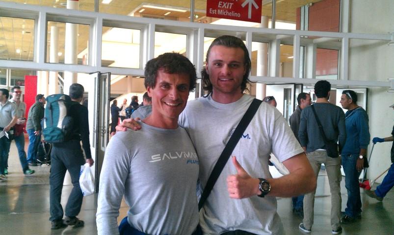Eudi 2014 - Matteo (a dx) e Davide Carrera